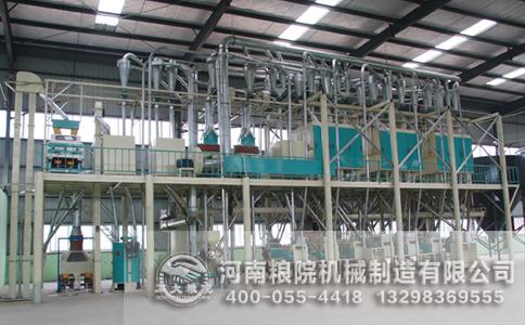 注意玉米深加工设备焊接部位的牢靠性