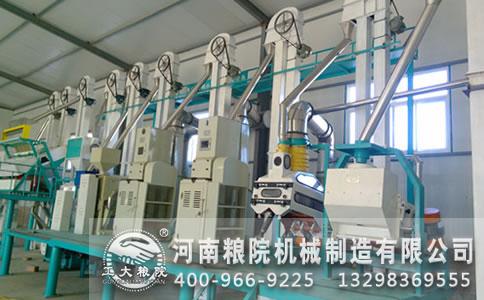 玉米加工机械生产必备的五个条件